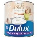 Dulux Light&Space Quick Dry Satinwood Absolute White 750ml