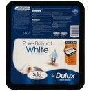 Dulux Solid Matt Pure Brilliant White 2.5 Litres