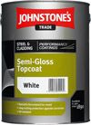 Johnstone's Steel & Cladding Semi Gloss Topcoat Colours 5 Litres